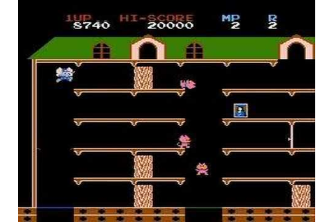 Mappy gameplay - YouTube