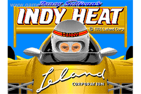 Danny Sullivan's Indy Heat - Arcade - Games Database