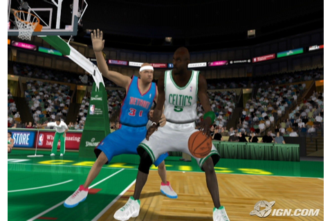 NBA 2K10 Screenshots, Pictures, Wallpapers - Wii - IGN