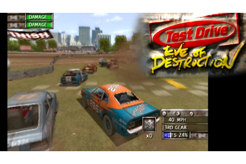 Test Drive: Eve of Destruction ... (PS2) - YouTube