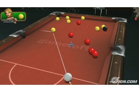 Midnight Pool Screenshots, Pictures, Wallpapers - Wii - IGN