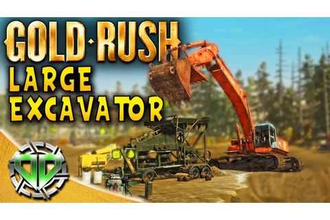 Gold Rush the Game : LARGE EXCAVATOR & MAGNETITE TRAILER ...
