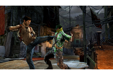 Old School Lane: Video Game Review: Uncharted: Golden Abyss