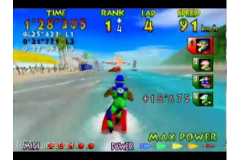 Wave Race 64 - N64 Gameplay - YouTube