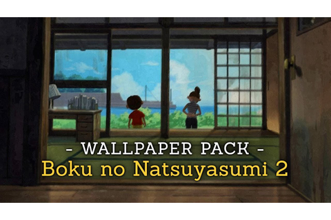 Boku no Natsuyasumi 2 - Wallpaper Pack - YouTube