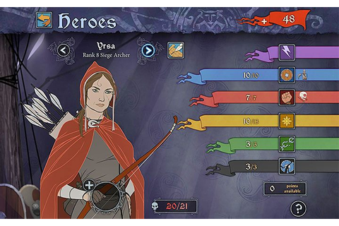Character progression in The Banner Saga 3 - The Banner ...