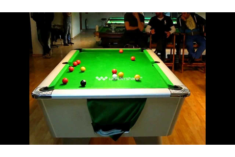 1st Eight-ball Pool Cyprus Championship: Final game of ...