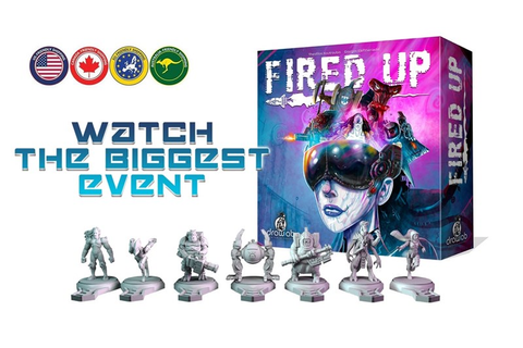 Fired Up Board Game Up On Kickstarter - Tabletop Gaming ...