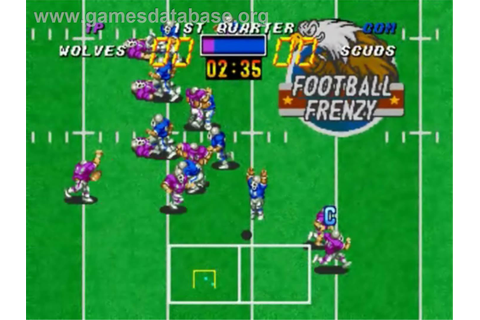 Football Frenzy - SNK Neo-Geo CD - Games Database