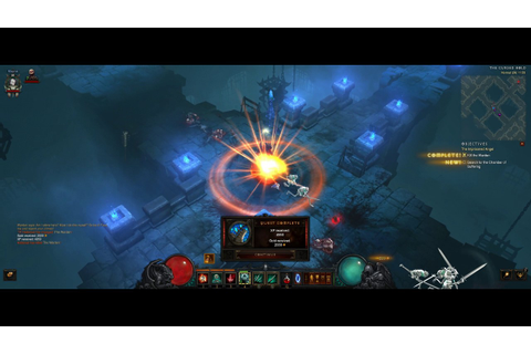 Diablo III: Rise of the Necromancer Review Gameplay [PC ...
