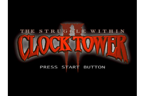 Clock Tower II: The Struggle Within (1998) by Human PS game