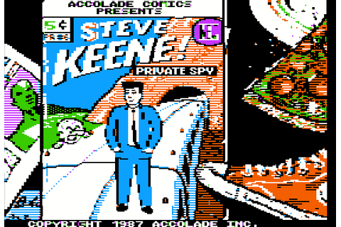 Accolade Comics: Steve Keen, Private Spy (1987) by ...