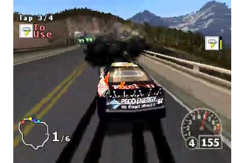 PSX PORTABLE - NASCAR RUMBLE RACING - YouTube