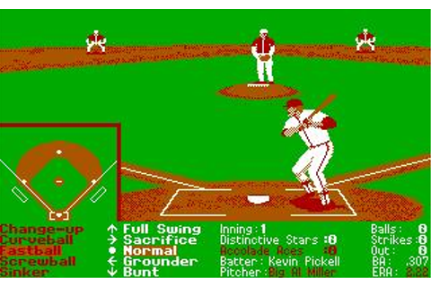 Hardball II Download (1989 Sports Game)