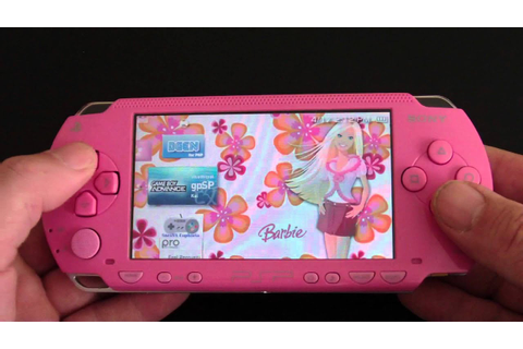 Custom Sony PSP 1000 Pink Barbie Themed PlayStation ...