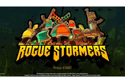 First look at: Rogue Stormers - YouTube