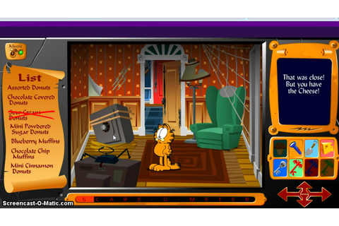 Garfield Scavenger Hunt 1 Walkthrough - YouTube