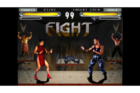 Let's Play a No-Name MAME Game: Street Fighter: The Movie ...