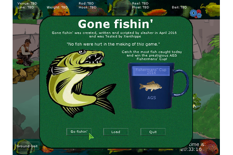 Adventure Game Studio | Games | Gone fishin'