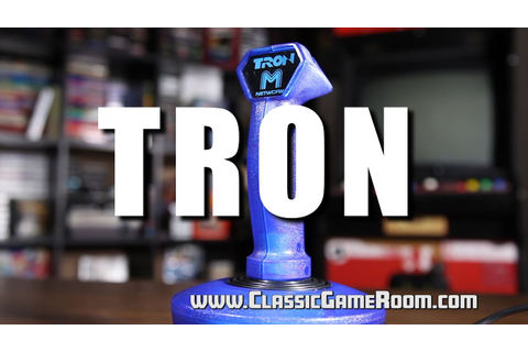 Classic Game Room - ADVENTURES OF TRON review for Atari ...