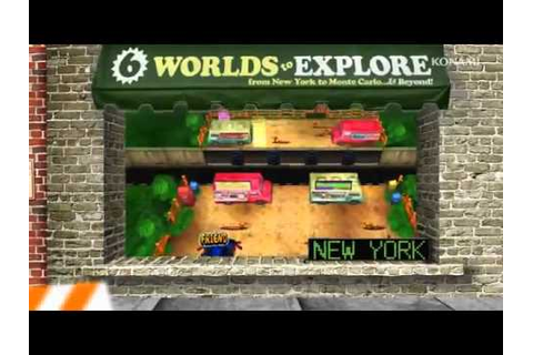 Frogger 3D (3DS) - Debut Trailer - YouTube