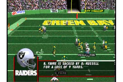 Madden NFL 98 PSX - Intro + Gameplay - YouTube