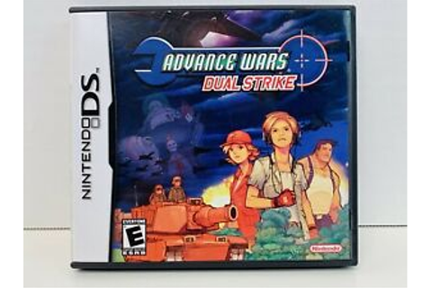 Nintendo DS Advance Wars Dual Strike Case Only - No Game ...