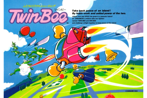 TwinBee, Konami #video #games | video games | Pinterest ...