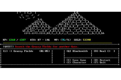 SanctuaryRPG, the 'Dark Souls' of ASCII games - SpawnFirst