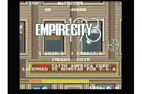 Empire City 1931: Taito Retro Arcade Gangsters Crime ...
