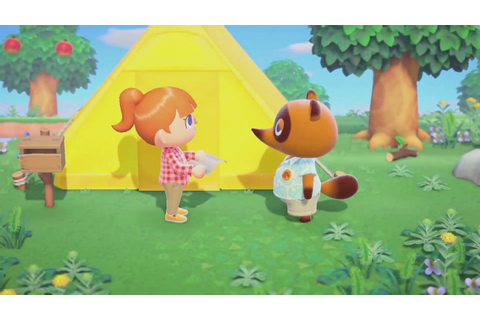 Animal Crossing New Horizons Gameplay Trailer Nintendo ...