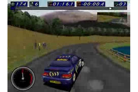 [DOS] Network Q RAC Rally Championship -- Gameplay - YouTube