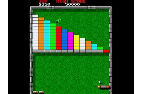 Arkanoid Classic Game Arcade Version - YouTube