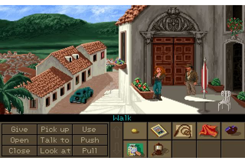 Indiana Jones and the Fate of Atlantis adventure for DOS ...