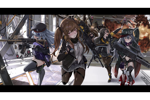 Girls Frontline Deep Dive 2-4 - YouTube