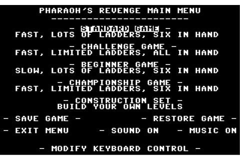 Download Pharaoh's Revenge - My Abandonware