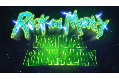 Rick and Morty: Virtual Rick-ality | Available Now | Adult ...