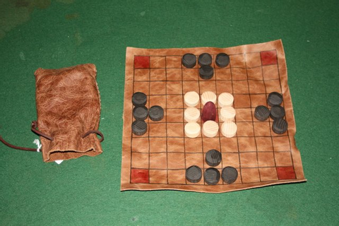 The Viking Game (Tablut) wood & leather.jpg | Exeter Chess ...