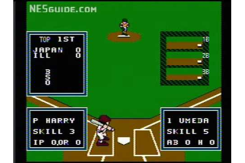 Little League Baseball: Championship Series - NES Gameplay ...