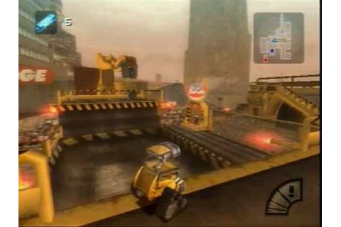 [PS2] Wall-E Gameplay - YouTube