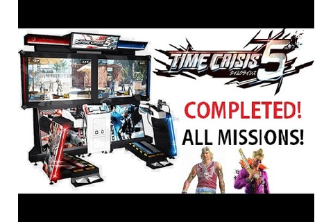 Time Crisis 5 Arcade Game Completed!! All Missions ...