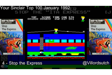 Your Sinclairs 100 Greatest Games - 4 Stop the Express # ...