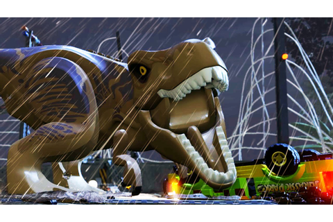 LEGO JURASSIC WORLD Game - Launch Trailer (PS4 / Xbox One ...