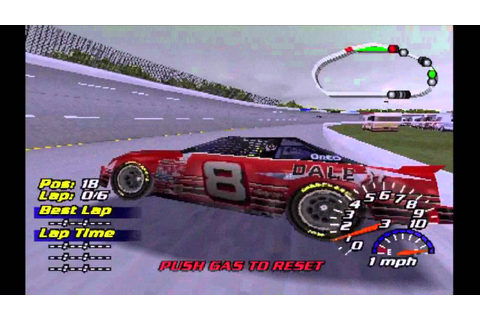 NASCAR 2001 PS1 Crash Compilation - YouTube