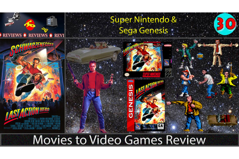 Movies to Video Games Review -- Last Action Hero (SNES ...