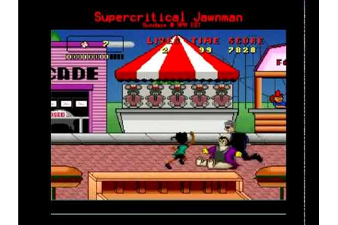 Worst SNES Games: Bebe's Kids Level 1 - YouTube
