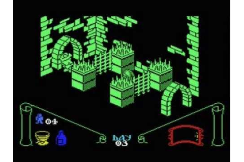 Knight Lore MSX - Walkthrough - YouTube