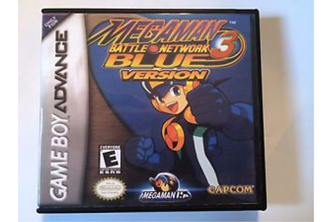Megaman Battle Network 3 Blue Version - GBA - Replacement ...