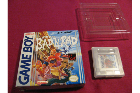 Skate or Die: Bad 'N Rad (Game Boy, 1990) Box in Excellent ...