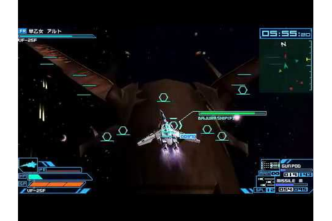 Macross Ace Frontier Game Play - YouTube
